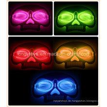 Halloween Glow Maske der Schädelform