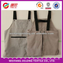 Cheap promotional solid kitchen apron