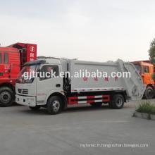 Dongfeng Duolika compresseur camion à ordures / compact camion à ordures / compresseur camion / camion à ordures / balançoire bras camion à ordures