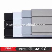 Durable Decoration Garage Panneaux muraux Plastic Slatwall Panels