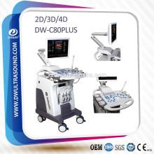 Máquina de Doppler de cor 4D DW-C80PLUS