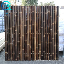 bamboo screen fencing 2m x 4m in planters dubai