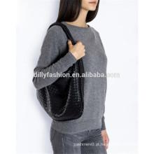 100% camisola de malha de caxemira para senhoras pescoço de pescoço de mulher