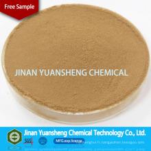 Liant en bois d'engrais de pulpe de Cls / Sulfonate de lignine de calcium de contrôle de la poussière