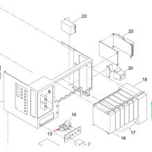 Panasonic SMT Switch para Sp60p-M máquina impressora de tela (KXFP507AA00)