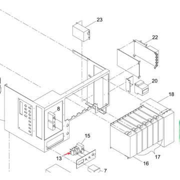 Переключатель к Panasonic SMT для Sp60p-М машина экрана принтера (KXFP507AA00)