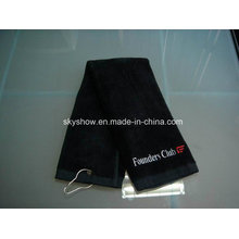 Полотенце для гольфа с крючком (SST1010)