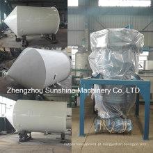 Máquina de refino de óleo de girassol planta de refinação de óleo 10t / D