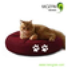 Nouvelle conception de coussin de sac de haricot de chat rond