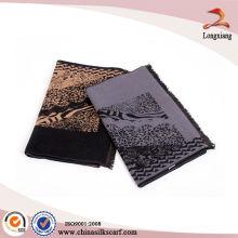 Lenço 100% seda com tecido impresso para homens