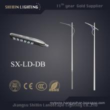 New Design Galvanized Square Light Pole 12m (SX-LD-dB)