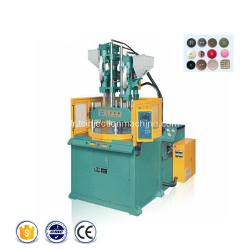 Machine rotative de moulage par injection de bouton de tissu
