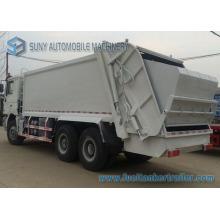 20m 3 6X4 Shacman 3axles camion à ordures compact