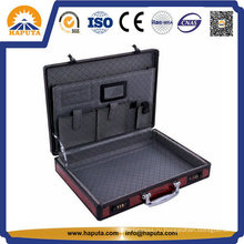 Краткое сумка для ноутбука с красной панелью и 2 замками комбинации