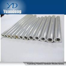 Stainless steel hollow threaded shaft threaded sleeve hollow thread rods