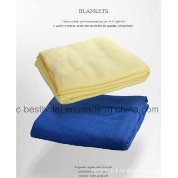 Four Seasons Inflight Travel Blanket Polar Fleece Blanket