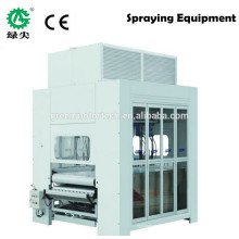 automatic door painting machine curved type sanding and polish machine