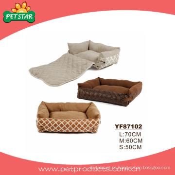 Cama de perro de alta calidad antigüedad, cama de mascotas (YF87102)