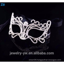 High quality crystal cheap party face mask, masquerade party mask