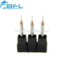 BFL Hartmetall-Schaftfräser Hartmetall-Mikrodurchmesser-Schaftfräser-Gold-Schneidwerkzeuge