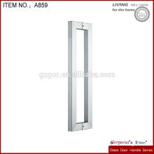 stainless steel long shower door handle
