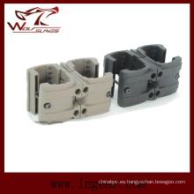 Engranaje táctico militar MP7 doble Clip conector Mag Clip