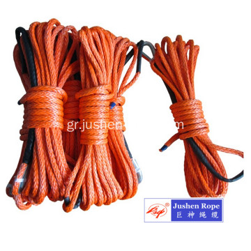 12-λωρίδα UHMWPE Braid Winch Rope
