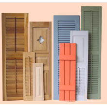 Newest Hot Selling Competitive Price Personalized Double Hinged Cedar Wood Shutters
