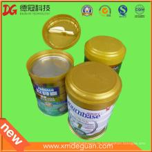 Export High-End Milch Pulver Dosen Kunststoff Faltdeckel