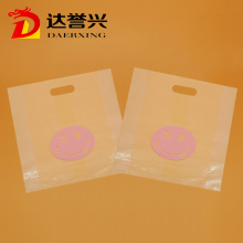 Transparent LDPE Die Cut Bag for Gift