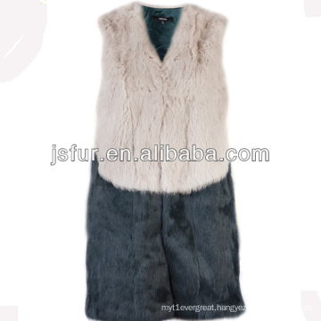 2013 new product fashion and warm good-fitting Genuine rabbit fur vest