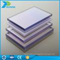 UV покрытие пластик 4 мм Twin стена лоус твердый лист поликарбоната для крыши