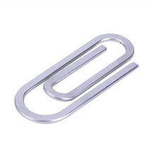 316L Stainless Steel Simply Paper Clip Money Clips