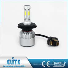 Farol do diodo emissor de luz da série da ESPIGA de S2 H4 H13 9004 9007 8000lm 6500k feixe branco baixo alto elevado com garantia do CE ROHS