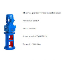 Hr Series Gearbox Vertical Mounted Gear Mixer