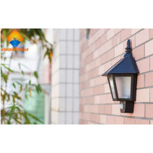 High Efficiency Outdoor Solar Security Welcome Wall Light