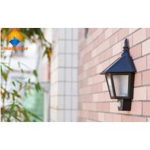 Alta Eficiência Outdoor Solar Segurança Welcome Wall Light