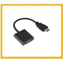 Mini HDMI para cabo de conversão de vídeo VGA