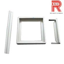 Perfis de extrusão de alumínio / alumínio para quadro de quadro