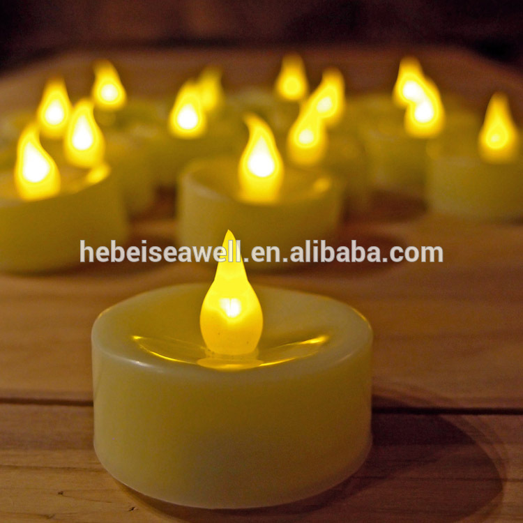 Tealights Flameless Baterai dioperasikan Flickering LED CandleS
