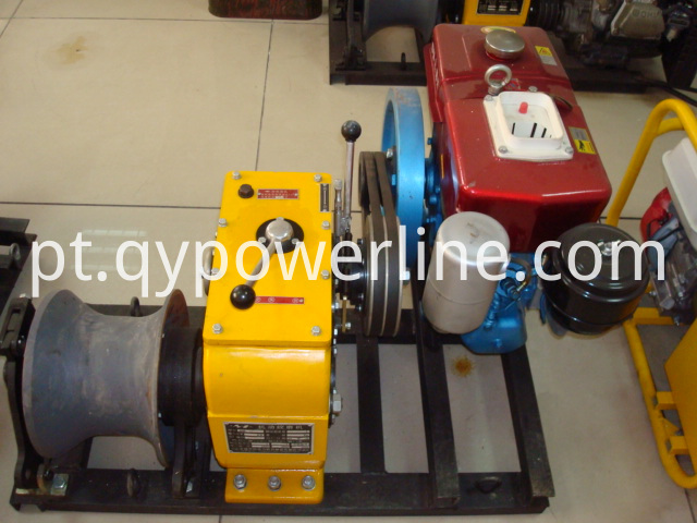 Winch Manufacturer 5 Tons cable winch diesel engine for Power Construction