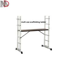 EN131 multi use scaffolding ladders aluminium