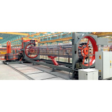 Máquina automática de soldadura de hormigón armado de jaula de pilotes