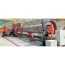 machine de soudure concrète de cage de pile de renfort concret