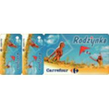 Cartão principal + chave tags cartão combinado cartão de presente, cartão de código de barras