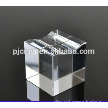 Cheap Crystal Cube Base Blank Crystal Block For Engraving
