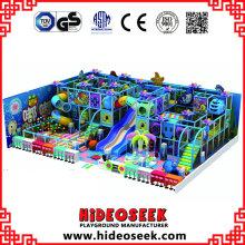 Grand équipement de terrain de jeu intérieur pour enfants