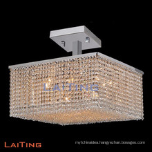 Modern chandelier crystal led light ceiling lamp handing light indoor