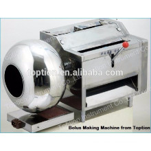 Table-type pequeña máquina de fabricación de píldoras a base de hierbas / máquina de embolsado multifuncional inclinable