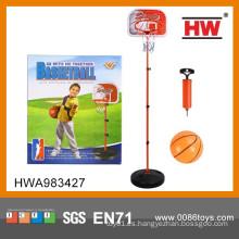 Conjunto de deportes de interior para niños Base de plástico para aro de baloncesto